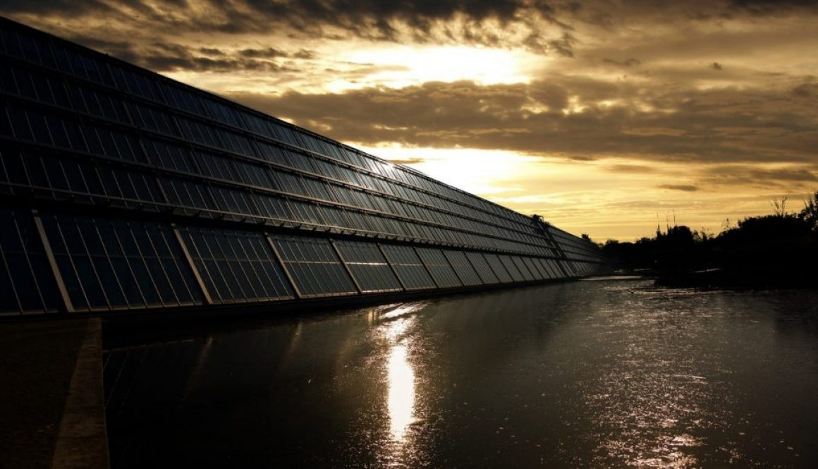 solar panels used for solar energy